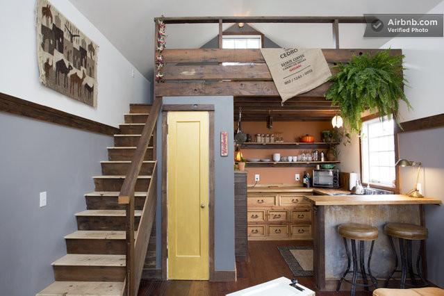 modern house wood